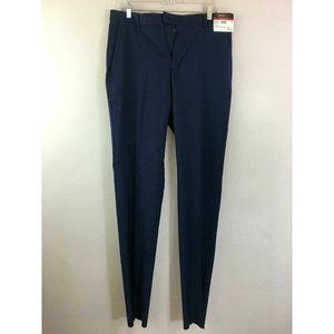 Men's Kenneth Cole Awearness Pants Size 34 Blue